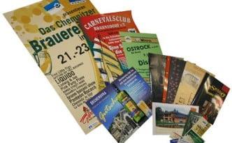 Werbeagentur Future Werbung Chemnitz Drucksachen Offsetdruck Fleyer Plakate