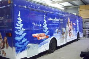 Bus-Beschriftung für die Weihnachts-Promotion-Tour des MDR Sachsen Spiegel_52