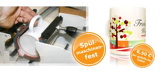 Werbeagentur Future Werbung Chemnitz Sublimationsdruck Tassendruck