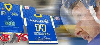 Wildboys Chemnitz starten in neue Saison mit Trikots aus dem Hause der Future Werbeagentur Chemnitz