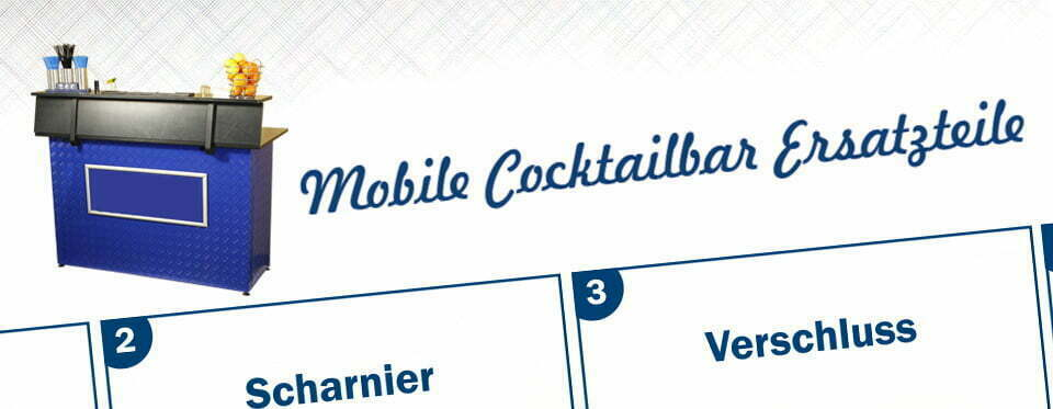 Mobile Cocktailbar, Promotionbar, Future Werbeagentur Chemnitz
