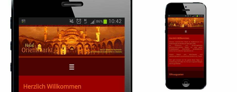 Webseiten, Internetseiten, Responsive Seiten, Smartphone, Tablet, Future Werbeagentur Chemnitz