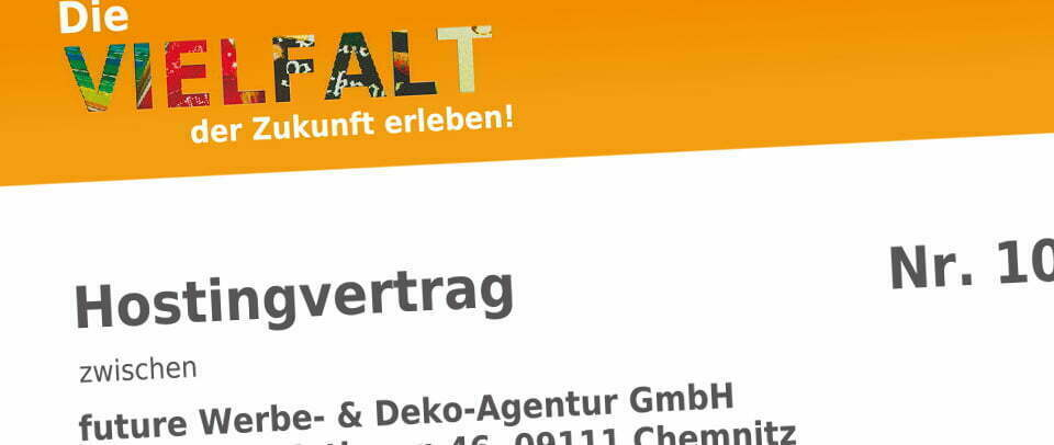 Webseitenhosting, Shops, Internetseiten Future Werbeagentur Chemnitz