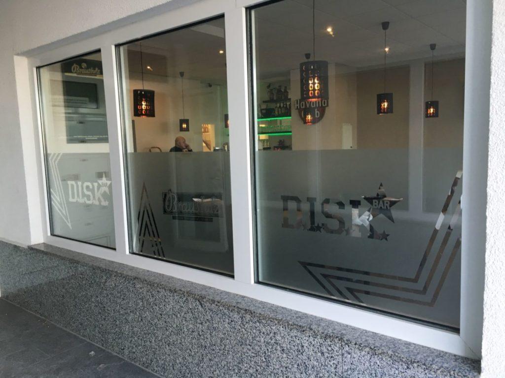 DISK_Bar_Fenster | future Werbeagentur Chemnitz