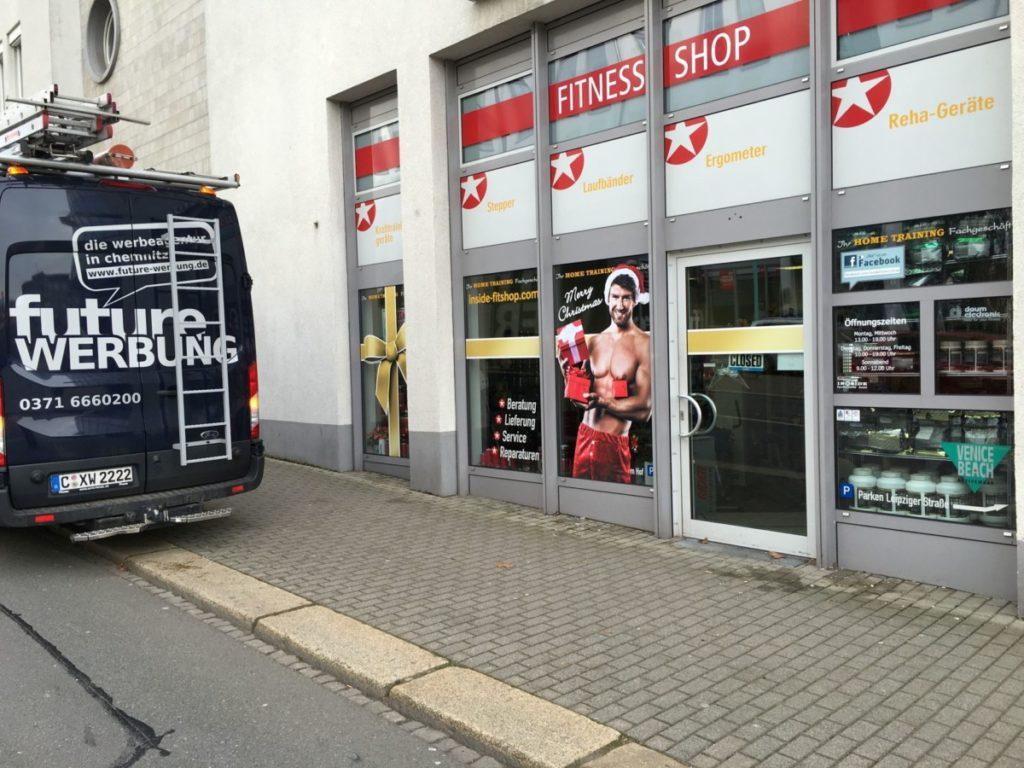 Fensterbeschriftung_Inside | future Werbeagentur Chemnitz Sportsysteme_Future_Werbeagentur