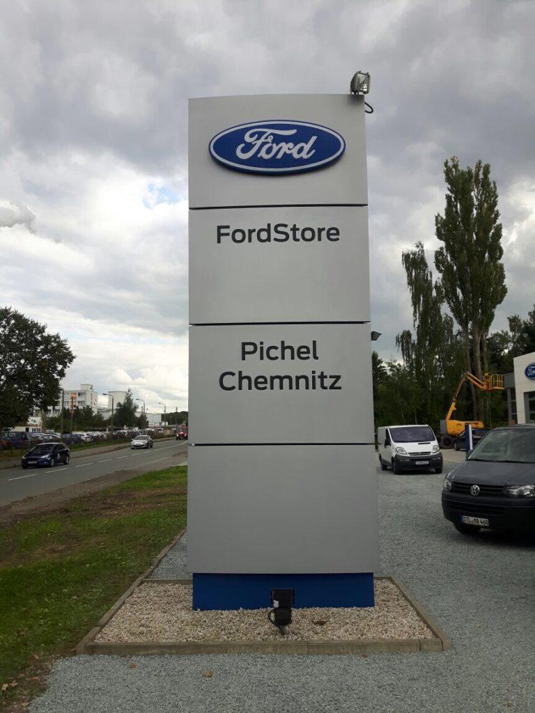 FordStore_Pichel_Chemnitz | future Werbagentur Chemnitz