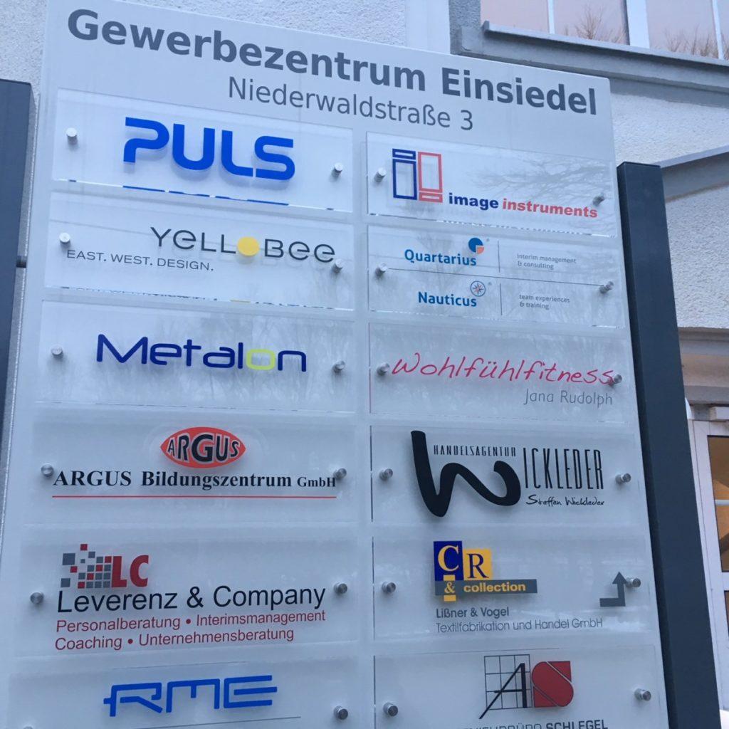 Gewerbezentrum_Einsiedel_Glas | future Werbagentur Chemnitz