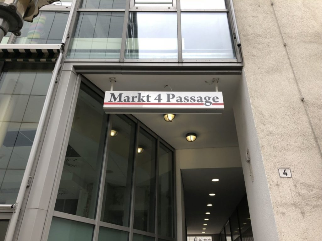 Markt4_Passage_Rückseite_Chemnitz | future Werbagentur Chemnitz